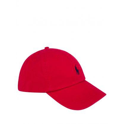 Red Sports Cap