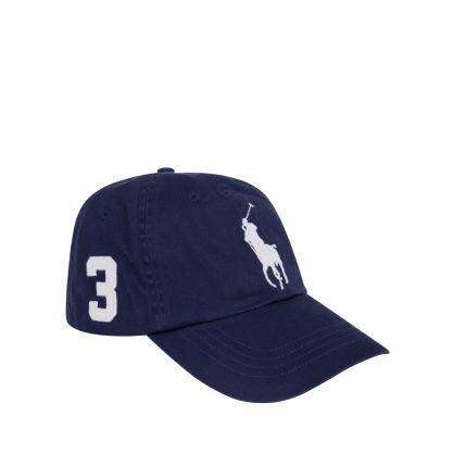 Navy Classic Logo Sports Cap