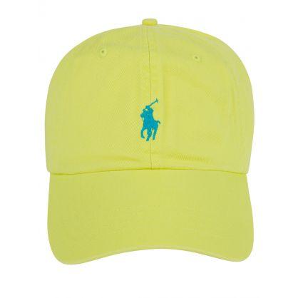 Green Sports Logo Cap