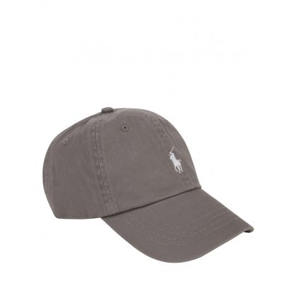Grey Twill Cap
