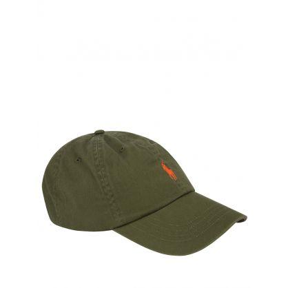 Green Twill Cap