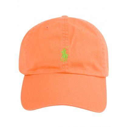 Orange Classic Twill Cap