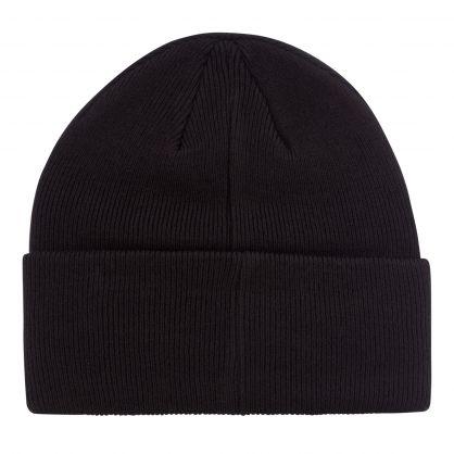 Black Big Pony Player Beanie Hat