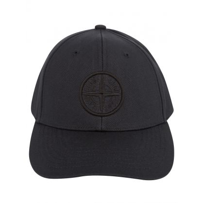 Black Compass Patch Logo Cap