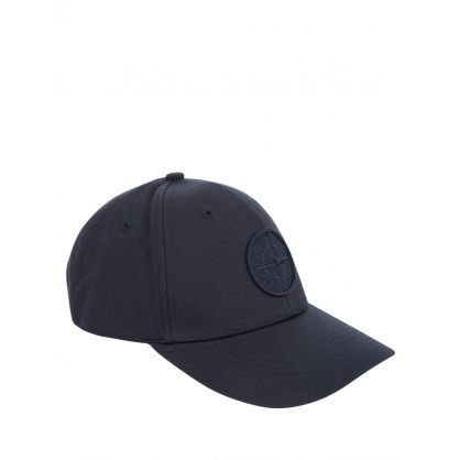 Navy Blue Compass Patch Logo Cap