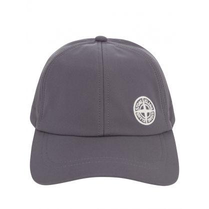 Grey e-Dye Compass Logo Cap