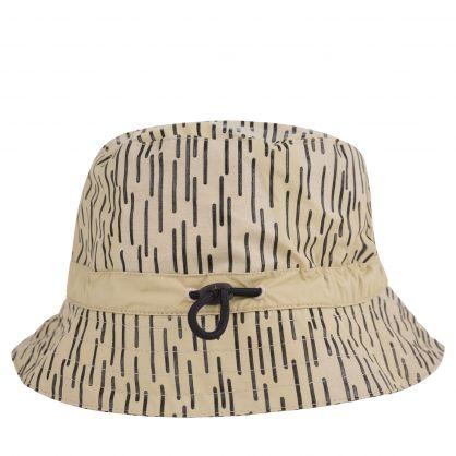 Ecru 'Rain Camo' Packable Hat