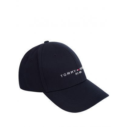 Navy Established Logo Cap