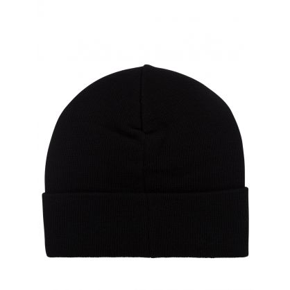 Black Double A Gerald Tall Beanie Hat
