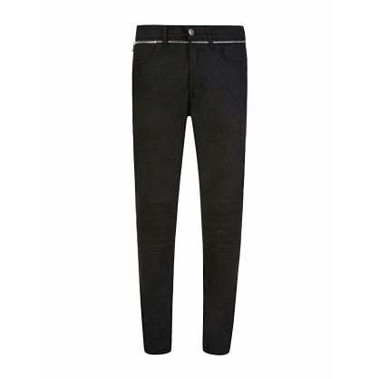 Menswear Black Extra-Slim Fit 732/1 Jeans