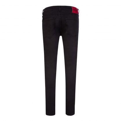 Black Extra-Slim-Fit 734 Jeans
