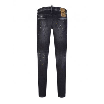 Black Paint Splatter 1964 Slim Jeans