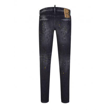 Black Paint Splatter 1964 Slim Jeans