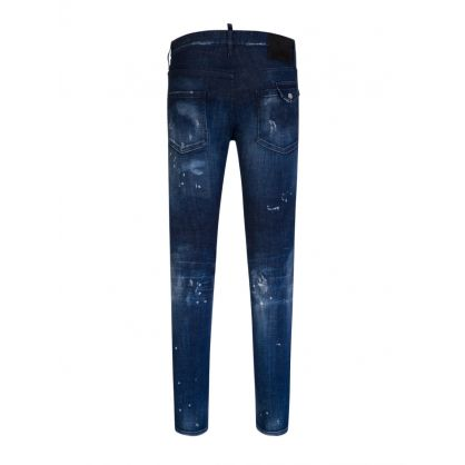 Blue Dark 2 Wash Cool Guy Jeans