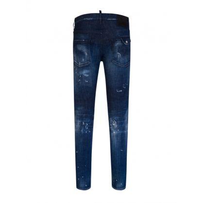 Blue Dark 2 Wash Cool Guy Jeans