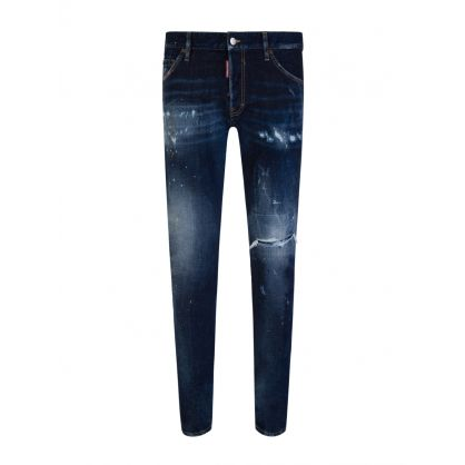Navy Dark 1 Wash Cool Guy Jeans