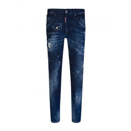 Dark Blue Skater Jeans