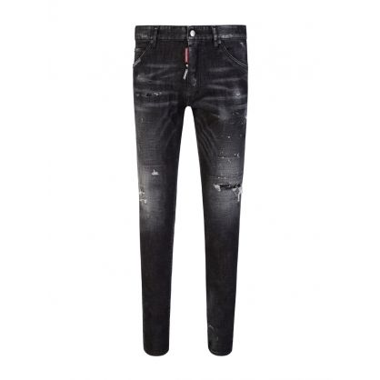Black Washed Cool Guy Jeans