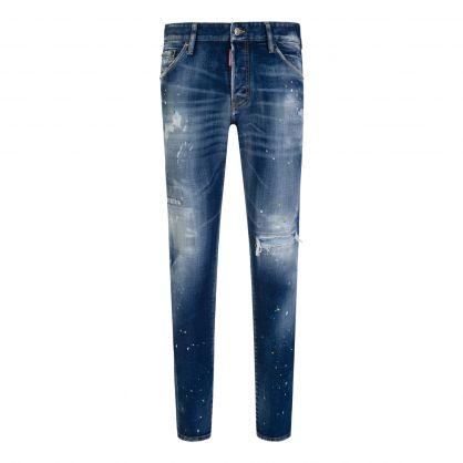 Navy Blue Classic Cool Guy Jeans