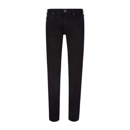 Black Slim Fit J06 Jeans