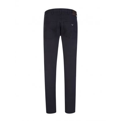 Navy J45 Regular Gabardine Jeans