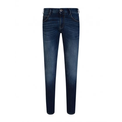 Blue J10 Extra Slim Fit Denim Jeans