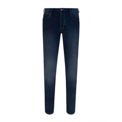 Stonewash J11 Skinny Fit Jeans