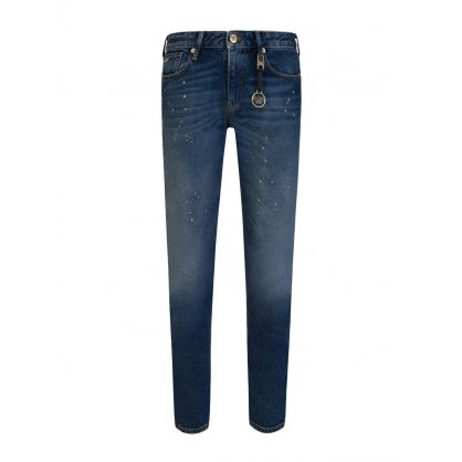 Blue Denim Slim-Fit J06 Jeans