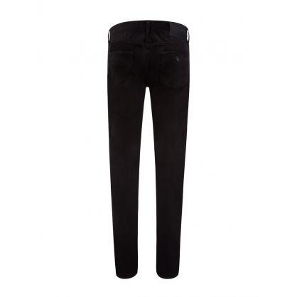 Black Velvet Slim Fit J75 Jeans