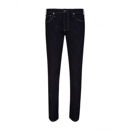Dark Navy Slim-Fit J06 Jeans