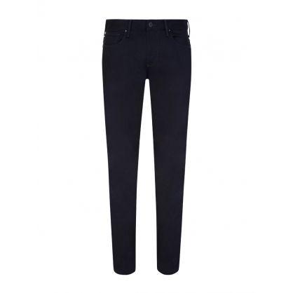 Navy Slim-Fit J06 Five Pocket Jeans