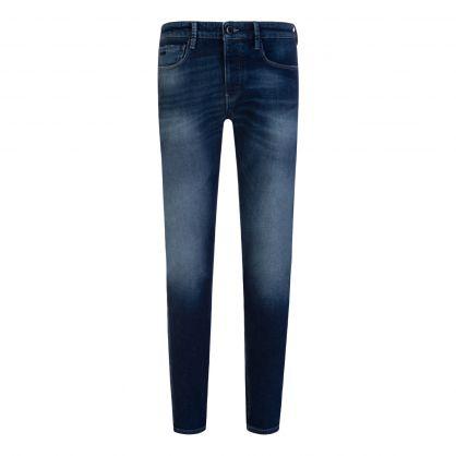 Blue Slim-Fit J75 Denim Jeans