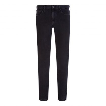 Jet Black Slim-Fit J06 Comfort-Denim Twill Jeans