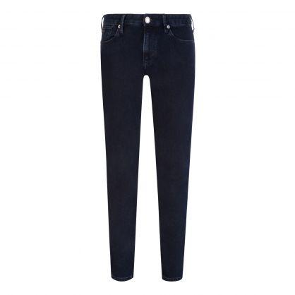 Blue J06 Slim-Fit Twill Jeans