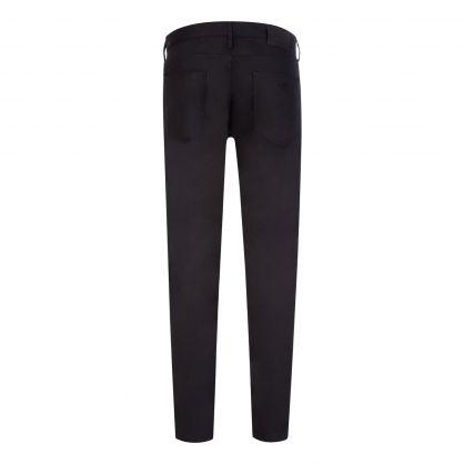 Black J06 Slim-Fit Comfort Denim Twill Jeans