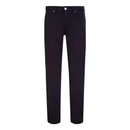 Navy Blue J45 Gabardine Jeans