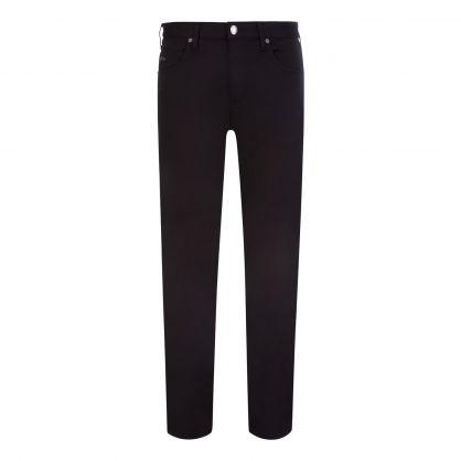 Black J45 Stretch Gabardine Jeans