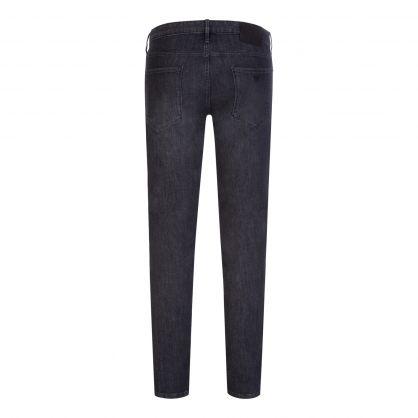 Black Slim-Fit J06 Light Wash Denim Jeans