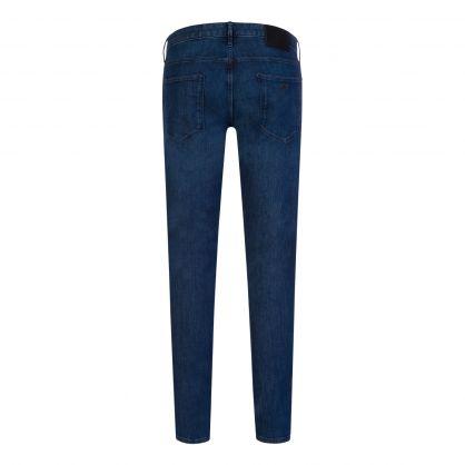 Blue J06 Slim-Fit Comfort Denim Twill Jeans