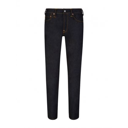 Red Seagull Carrot-Fit Raw Denim Jeans #2017