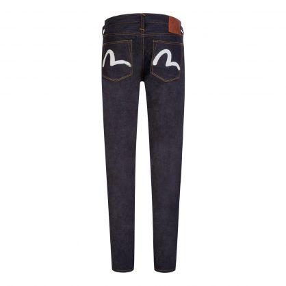 Indigo Regular-Fit Seagull Pocket Jeans #2008