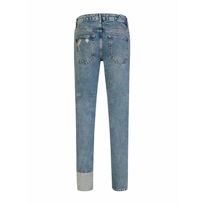 Blue Slim-Fit Chitch Jinx Remix Jeans
