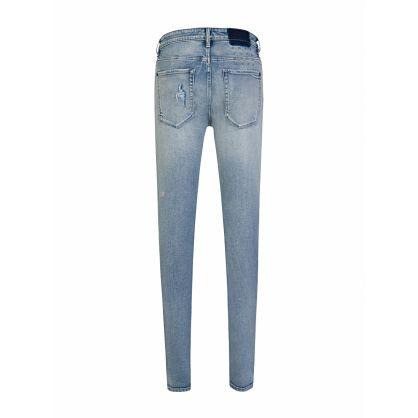 Blue Van Winkle Skinny-Fit Punk Scribe Jeans