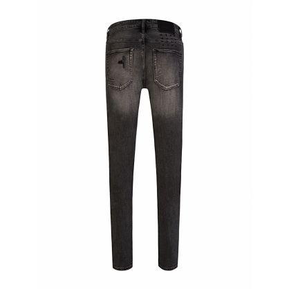 Black Van Winkle Bandana Angst Trashed Jeans