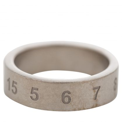 Silver Number Ring