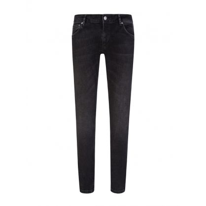 Worn Black Skinny Lin Jeans
