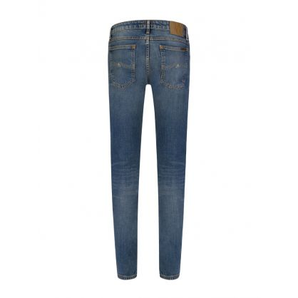 Blue Skinny Lin Tight Fit Jeans