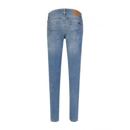 Blue Horizon Tight Terry Jeans
