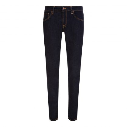 Navy Skinny Lin Jeans