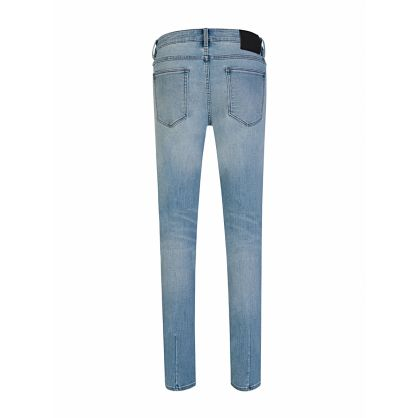 Blue Skinny-Fit Lights Out Torn Iggy Jeans